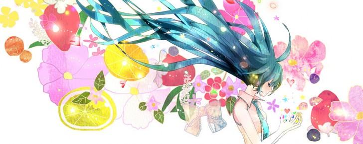 【初音ミク】カラフルで綺麗なイラスト壁紙【ボカロ画像】