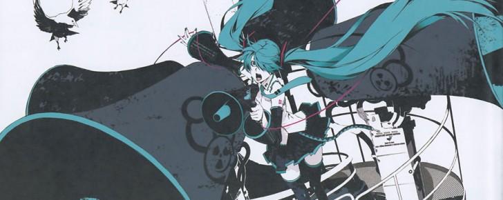 【初音ミク】恋は戦争の高画質なイラスト壁紙画像【ボカロ曲】