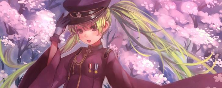 【初音ミク】千本桜の綺麗なイラスト壁紙画像【ボカロ曲】