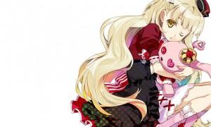【MAYU】マユとぬいぐるみの可愛いイラスト壁紙【ボカロ画像】