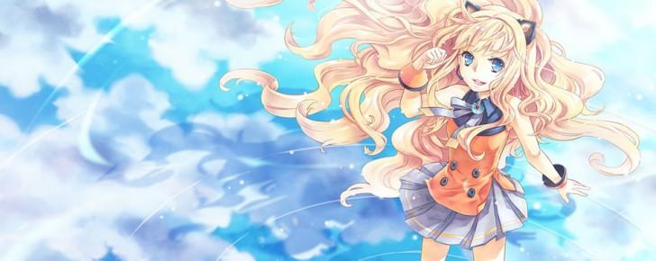 【SeeU】笑顔のシユの可愛いイラスト壁紙【ボカロ画像】