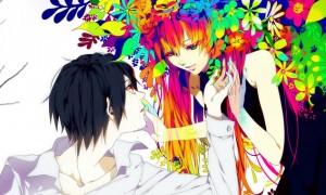 【巡音ルカ】カラフルで鮮やかなルカのイラスト壁紙【ボーカロイド】
