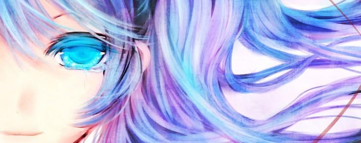 【初音ミク】美しい水彩塗りのミクのイラスト画像【ボカロ壁紙】